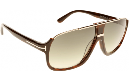 Tom Ford Elliot FT0335 56K 60 Solbriller Gratis